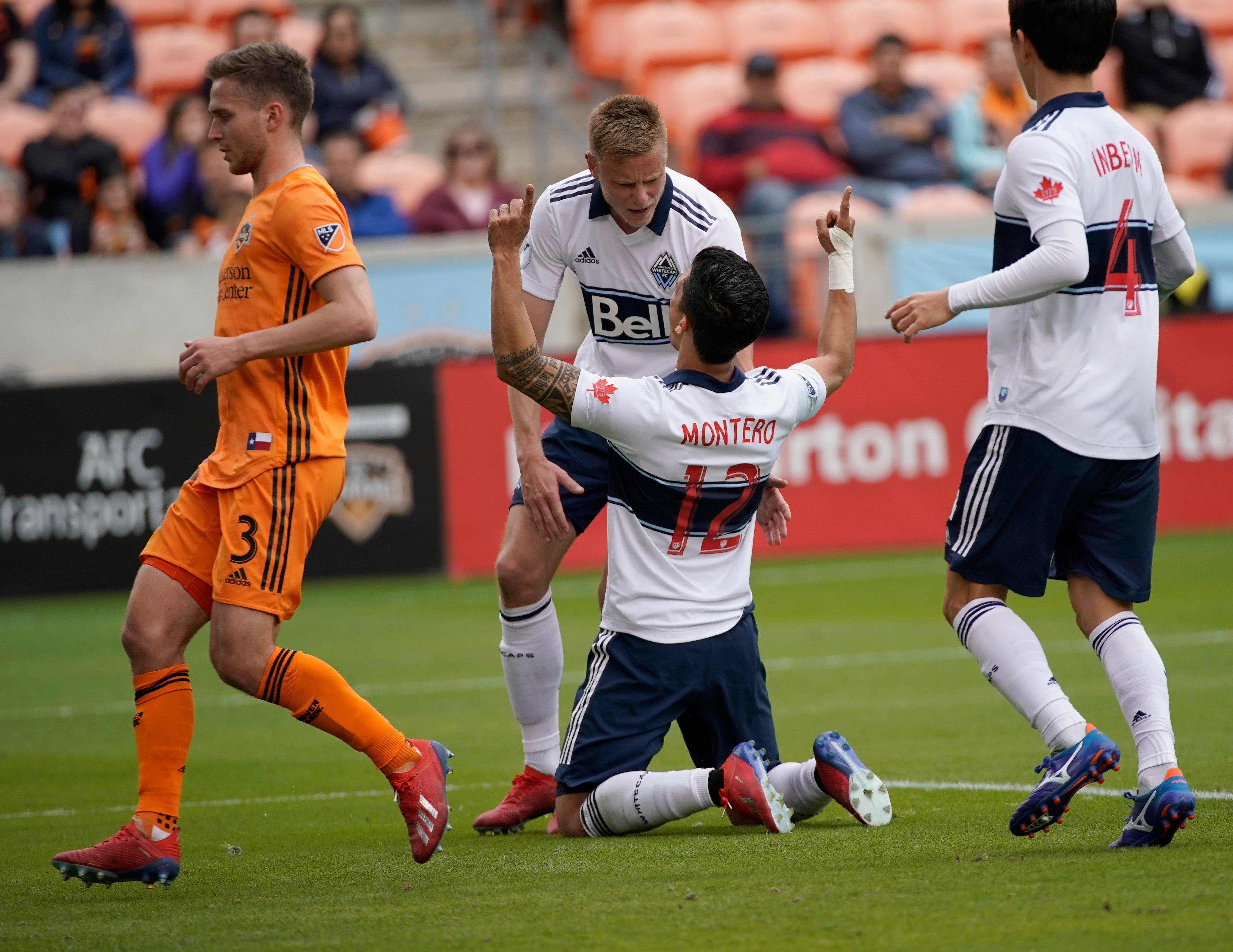 Rodriguez scores 2 goals, Dynamo beat Whitecaps 3-2