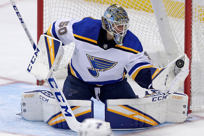 Dunn, Maroon lead Blues past Penguins