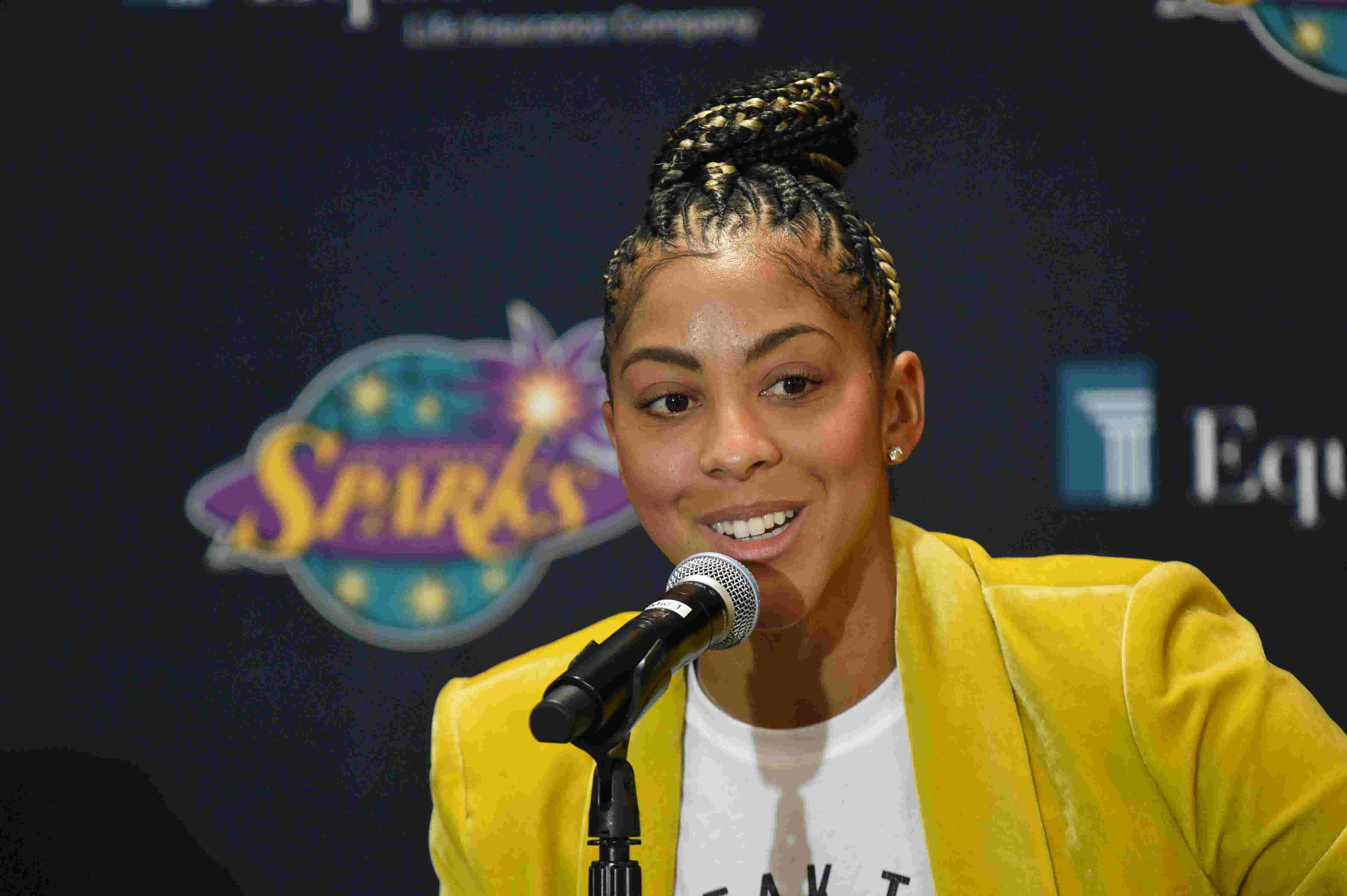 Candace Parker to Atlanta's Kelly Loeffler: 'BLM is not a political statement, it's a moral stance'