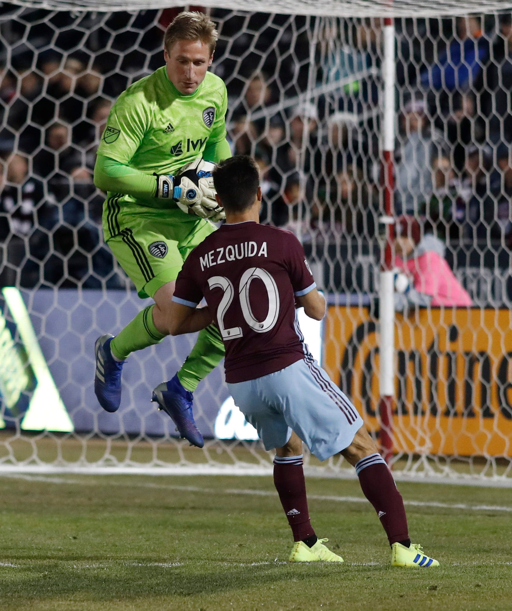 Russell's late goal lifts Sporting KC to 1-1 tie with Rapids