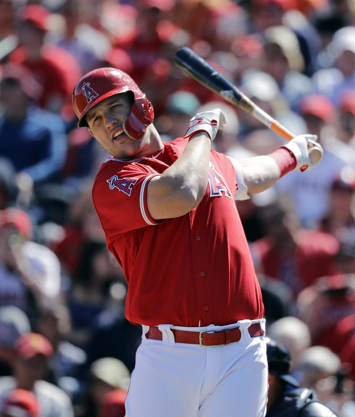 Mike Trout Los Angeles Angels Close To Record 12 Year 432m Deal