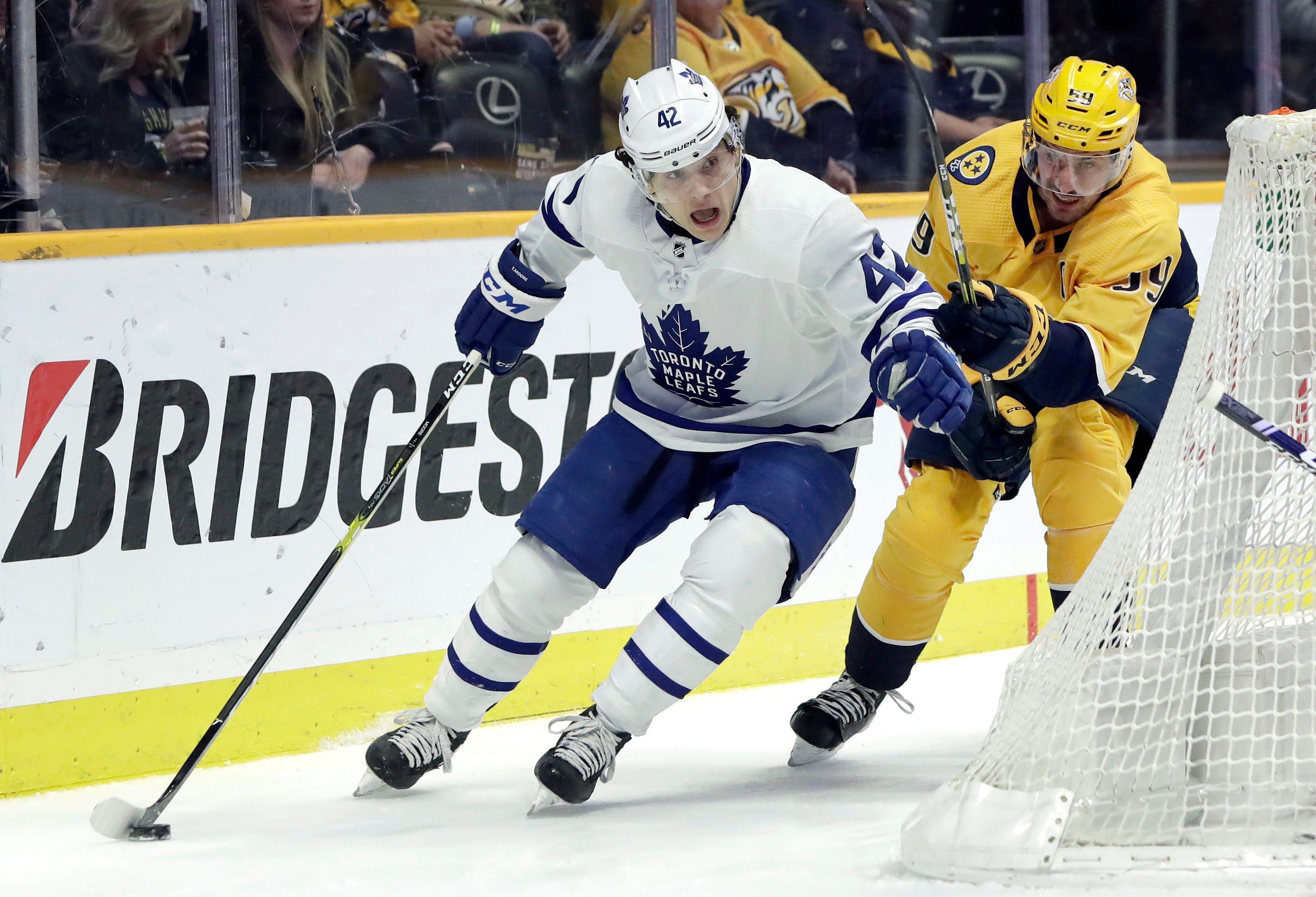 Rinne, Preds blank reeling Maple Leafs 3-0