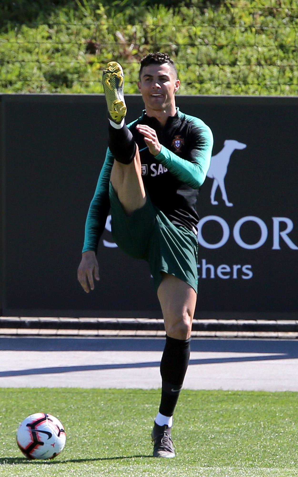 Cristiano Ronaldo fined $22K by UEFA for obscene gesture