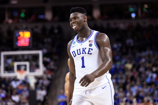 Zion Williamson carrying Duke, but feels no pressure as he shoulders the load