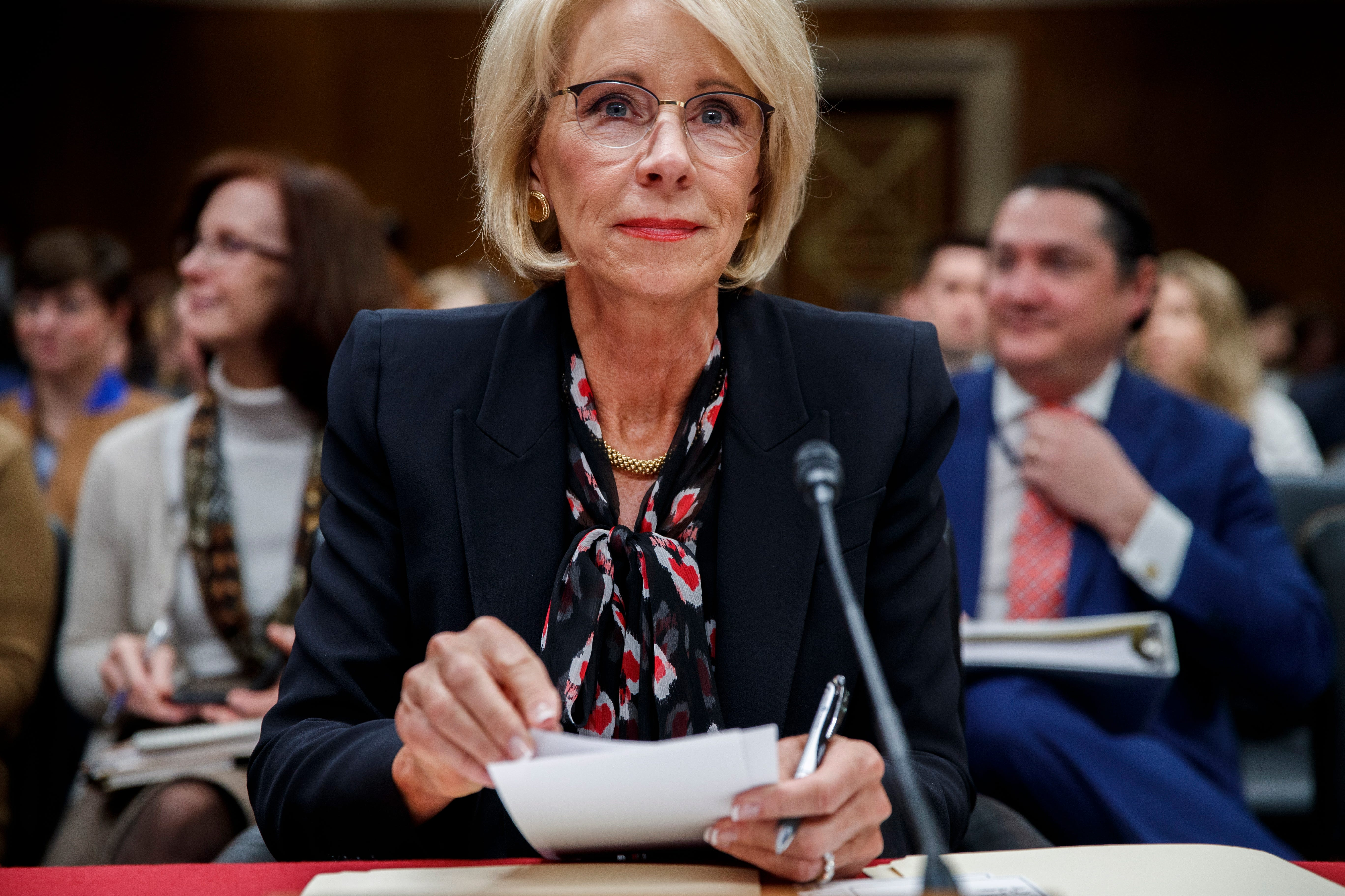 usatoday.com - Nicholas Wu, USA TODAY - 51 attorneys general call on Betsy DeVos to cancel up to 42,000 disabled veterans' student debts