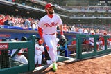 What I'm Hearing: Bob Nightengale was on hand for Bryce Harper's debut as a Philadelphia Philly and relays what he heard and saw from the six-time All-Star.