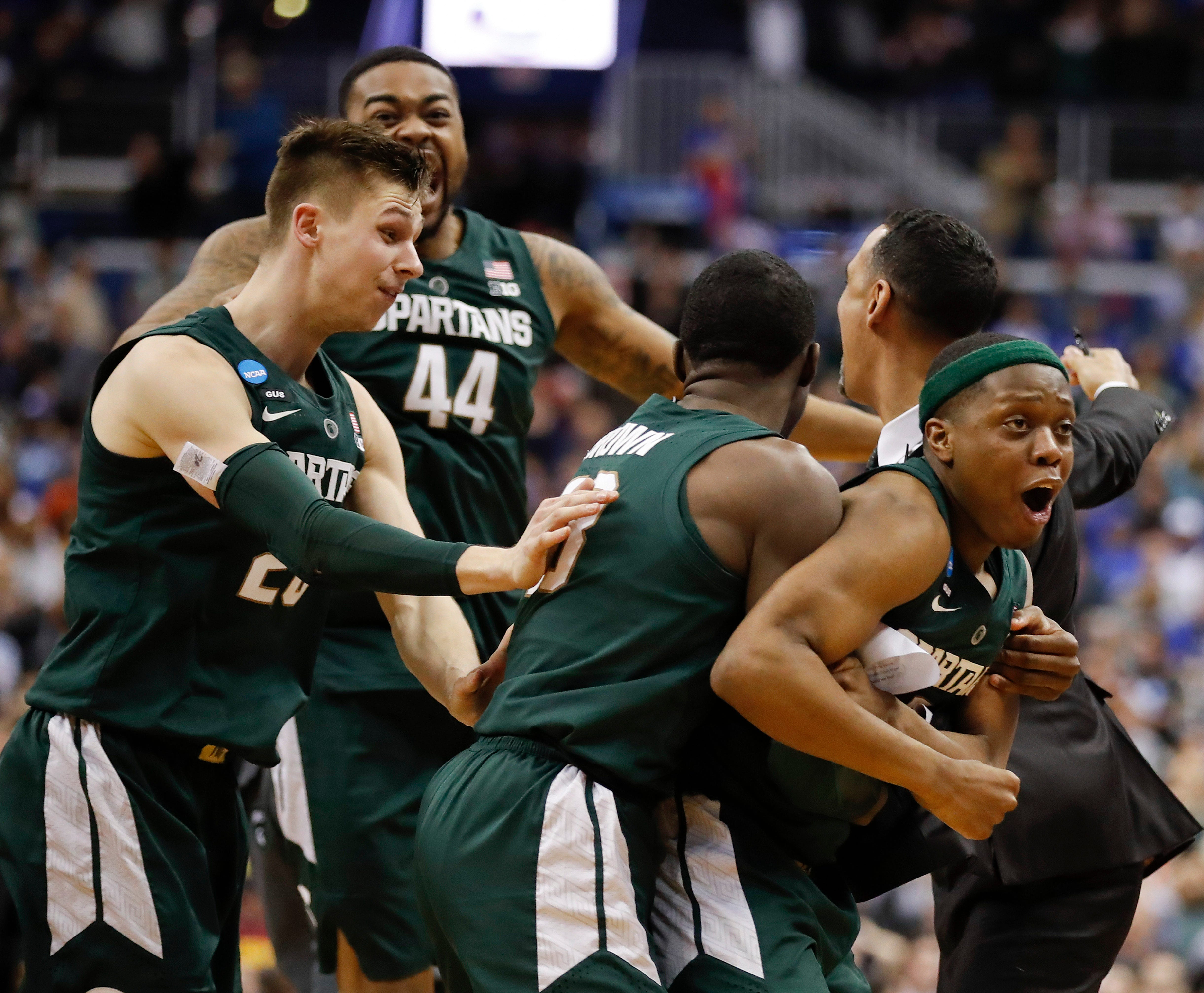 b990e2a5b274 How Michigan State stunned Duke and look primed to win it all