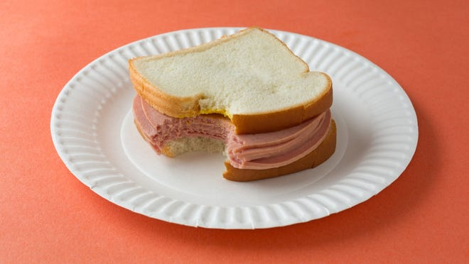 """Bologna, or """"baloney,"""" is the Americanized version of Italy's mortadella, a kind of soft, fat-flecked sausage that comes from the Italian city of, yes, Bologna."""