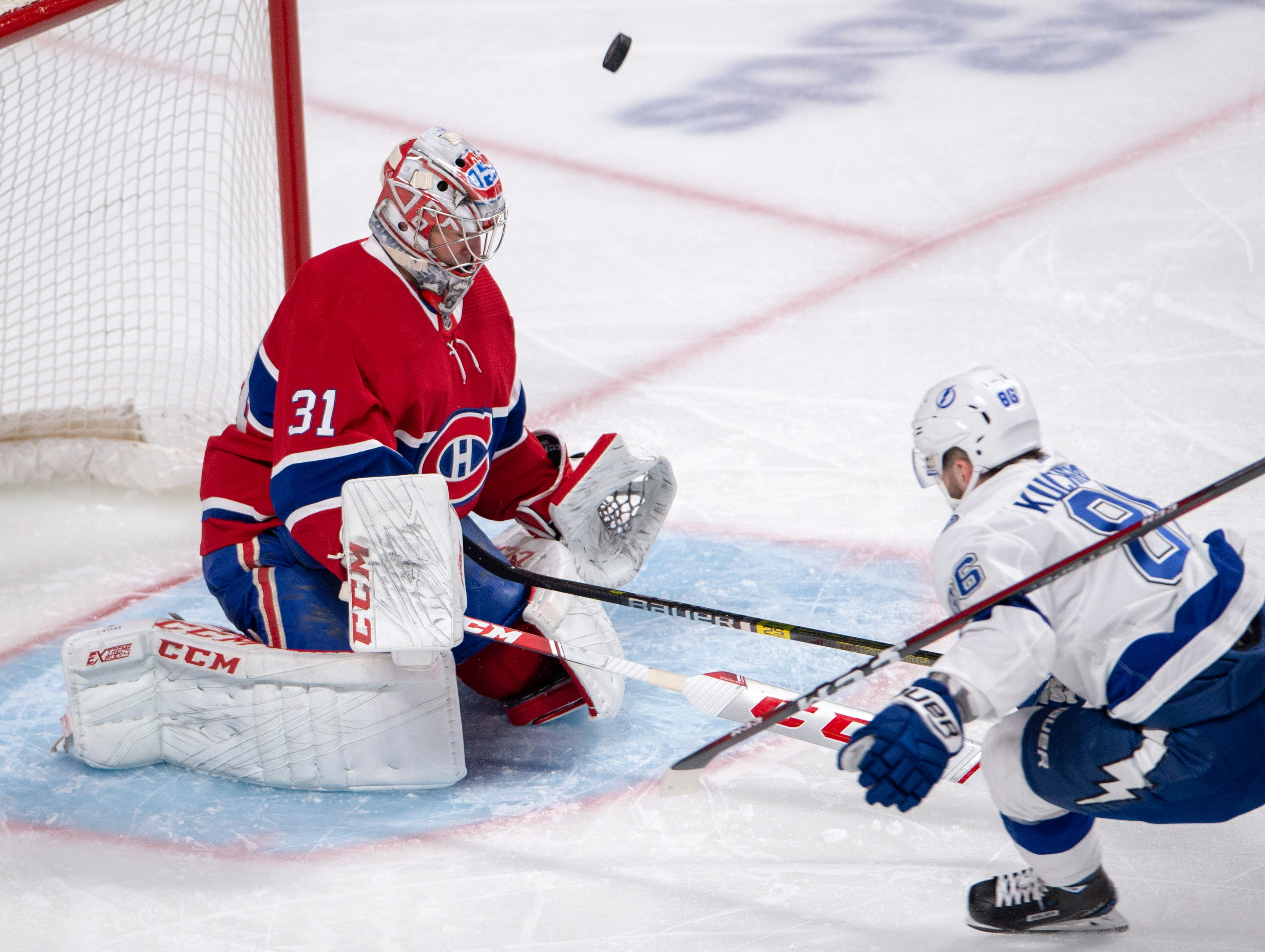 Canadiens beat Lightning to strengthen chance for wild card