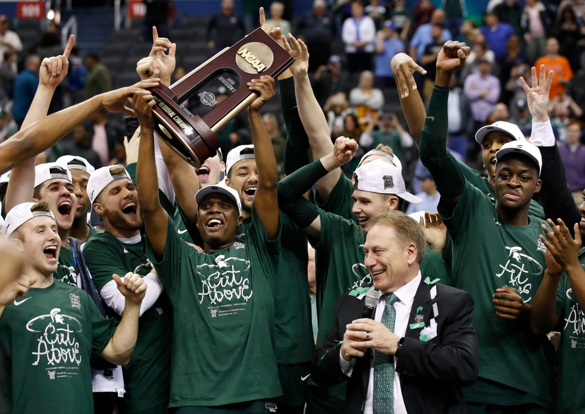 Final Four: Michigan State coach Tom Izzo's eight teams ranked