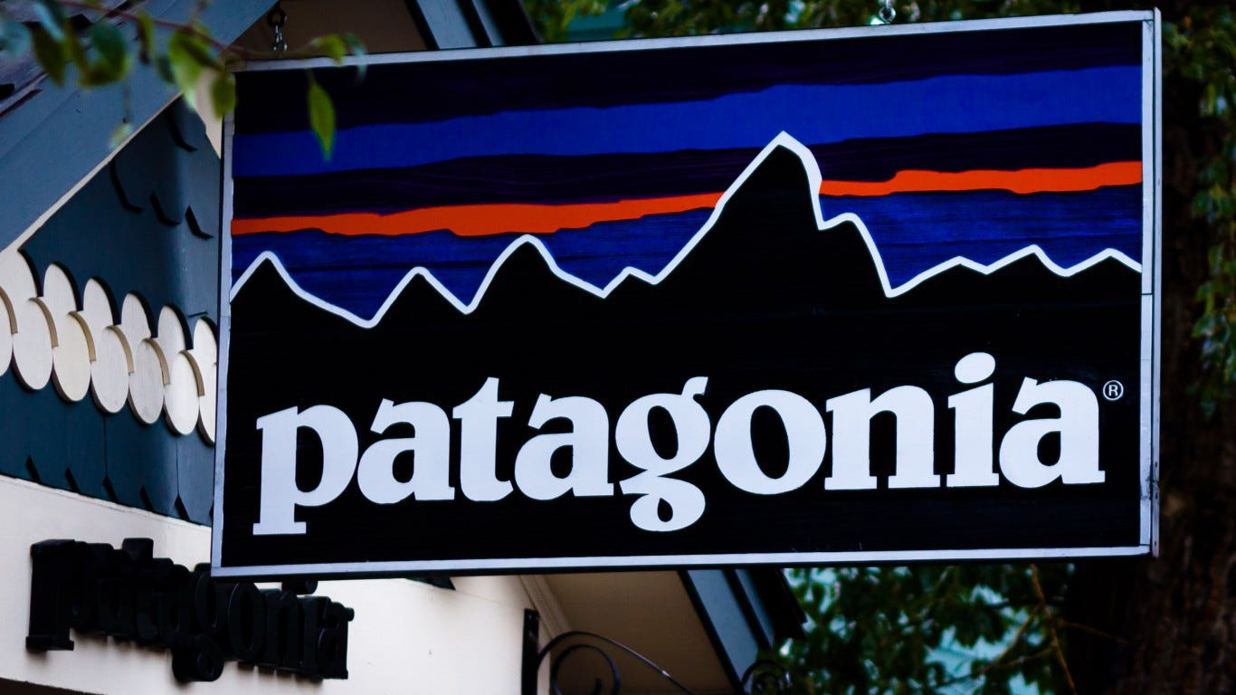 Patagonia suing Anheuser-Busch InBev over lookalike logos
