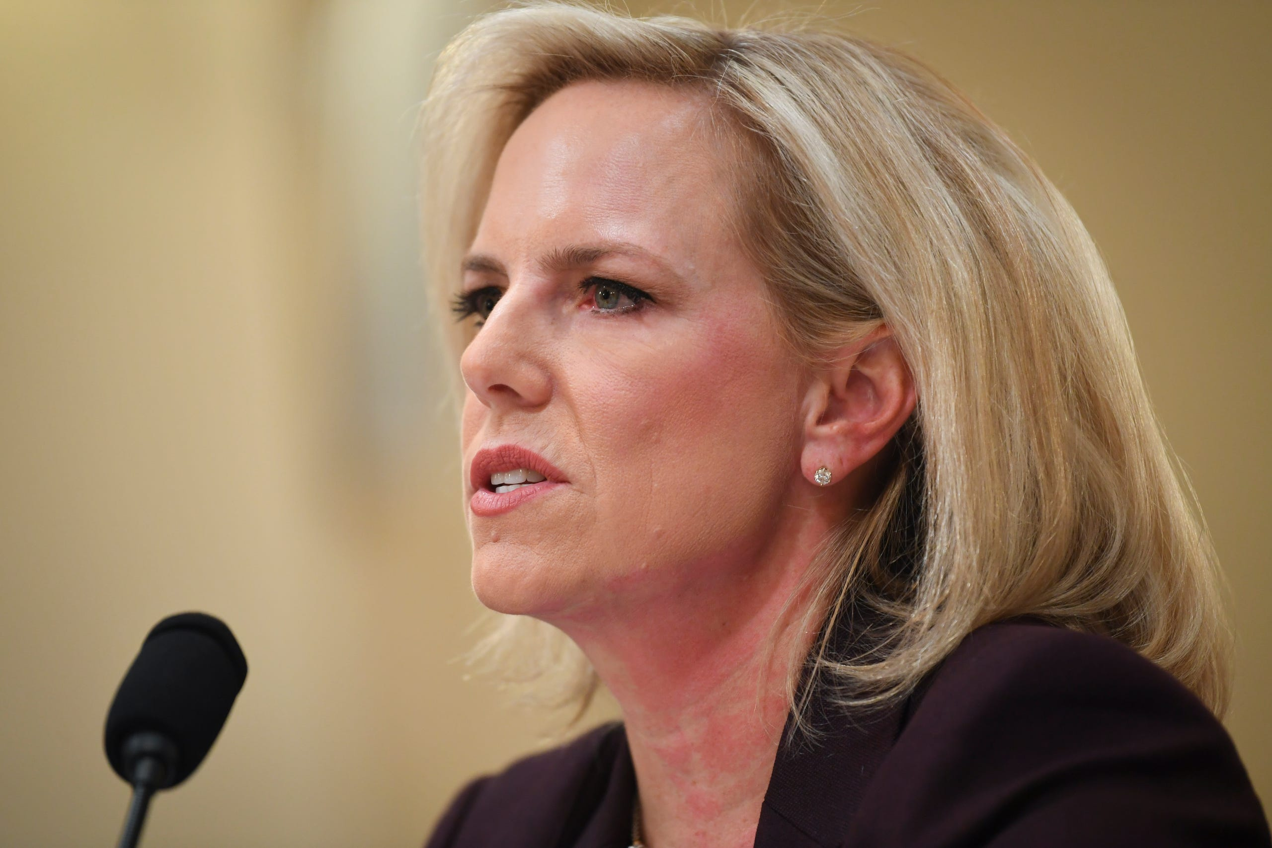 Homeland Security Secretary Kirstjen Nielsen resigned on April 7, 2019 amid a surge in migrants arriving at the U.S.-Mexico border that put massive strains on America's immigration system.
