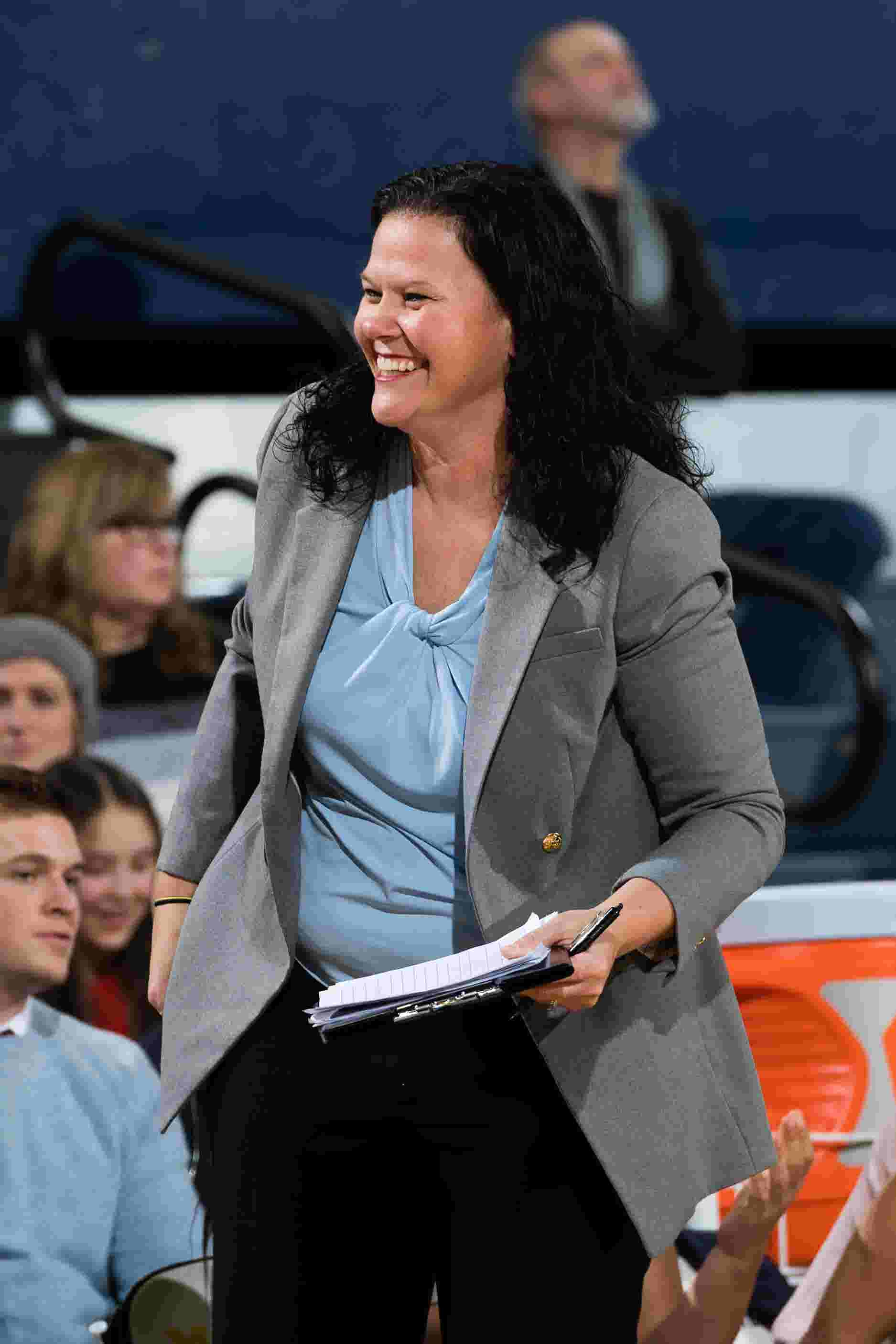 A list and a lot of energy: New coach's plan to turn around Xavier women's basketball