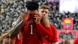 Texas Tech players Brandone Francis and Norense Odiase on the season that brought them so close to winning a national championship.