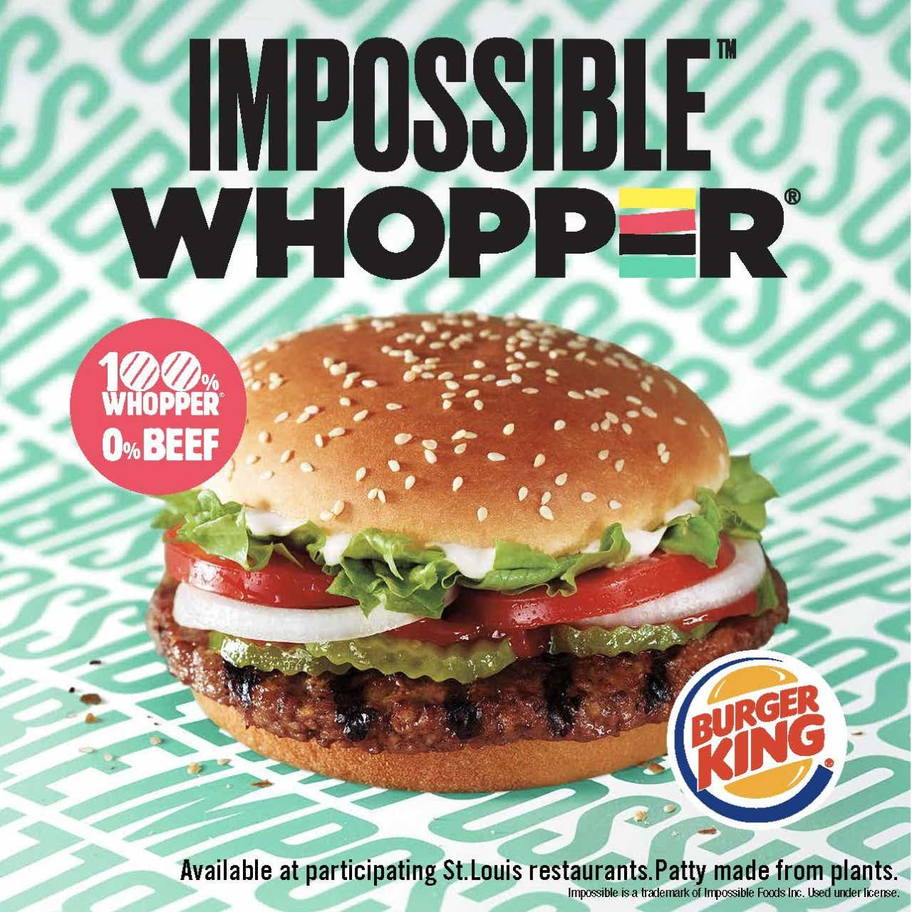 Here are the first cities getting Burger King's Impossible Whopper