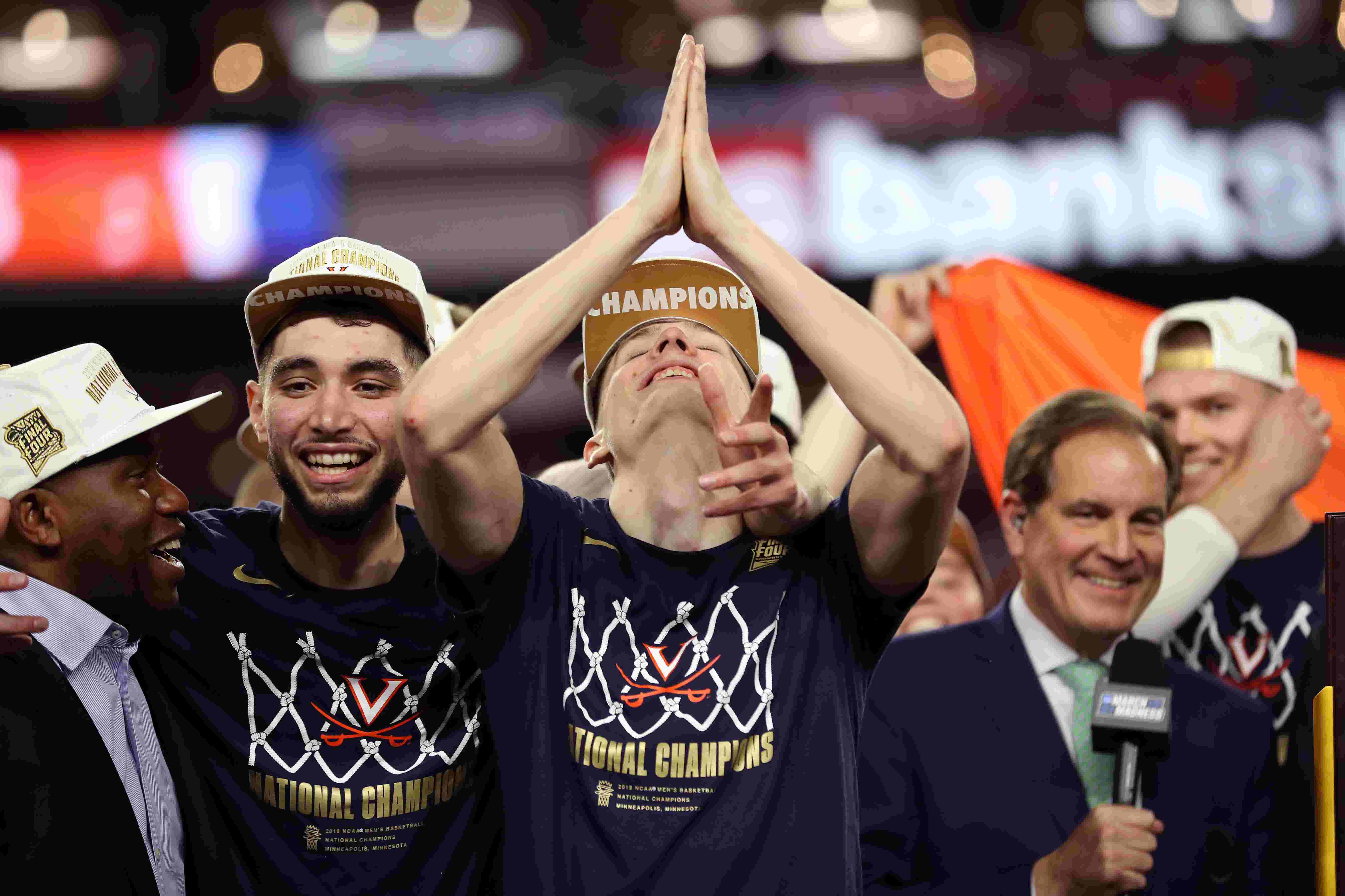 92698148a14 Virginia finishes season at No. 1 in the USA TODAY Sports men's basketball  coaches poll