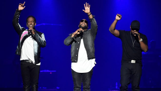 "The R&B group from Philadelphia is known for its a capella harmonies. Their debut album, ""Cooleyhighharmony,"" was a critical and commercial success, reaching 9 million album sales in December of 1995."