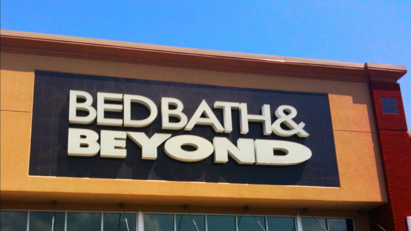 Bed Bath Beyond Store Closings 40 Locations To Be Shuttered
