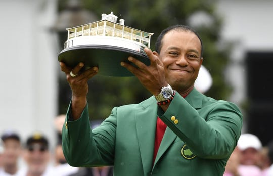 Even his opponents watched in wonder as Tiger Woods won at Augusta National