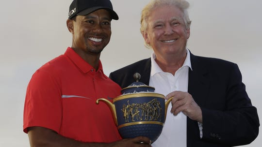 President Donald Trump to award Tiger Woods the Presidential Medal of Freedom
