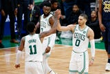 SportsPulse: The Boston Celtics and Milwaukee Bucks are off and running and look like the top contenders in the East. USA TODAY's Jeff Zillgitt breaks it down.