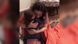 This 3-year-old and her uncle pulled off the ultimate surprise for her Navy mom.