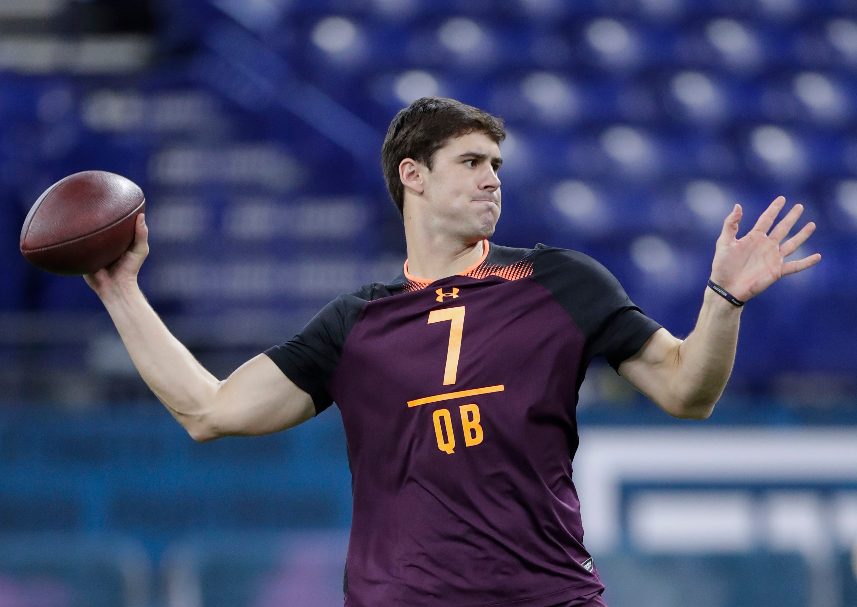 Drafting a quarterback in play for Redskins in early rounds