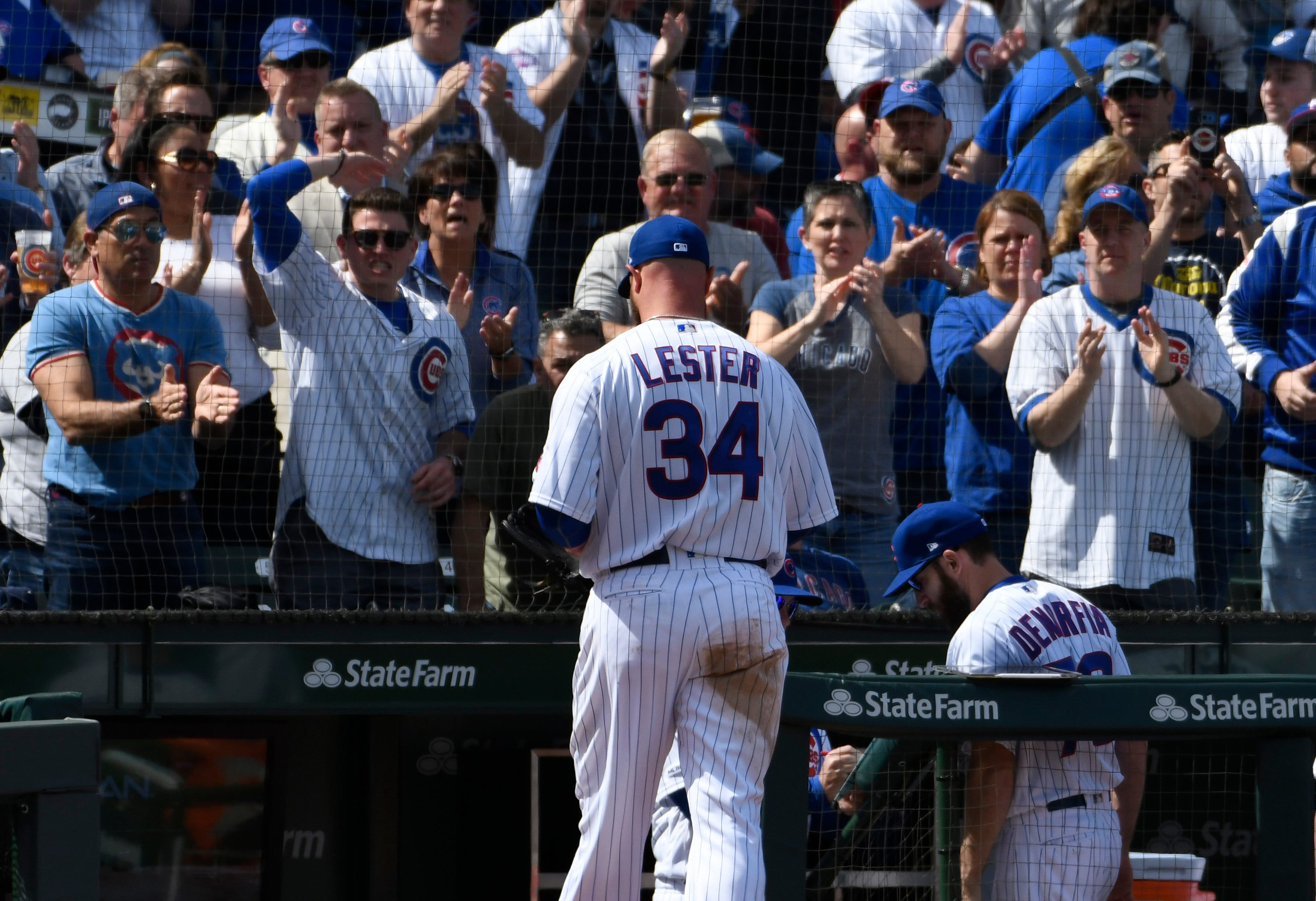 Cubs' Lester could be close to return after simulated game