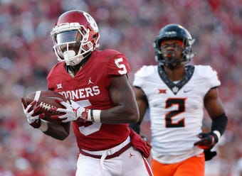 SportsPulse: Marquise 'Hollywood' Brown is one of few football players in the world that has gotten to play with both Kyler Murray and Baker Mayfield. He shares what makes each of them tick.