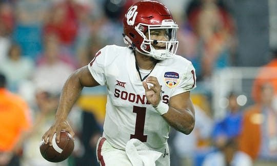 Kyler Murray selected by Cardinals as NFL draft's No. 1 pick in historic move