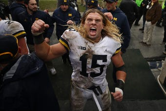 """The Marketing Arm held a """"speed dating"""" event in Nashville where the top NFL prospects got to meet brands for potential business collaborations. We followed former Michigan, now New England Patriot, linebacker Chase Winovich on his dates. Hilarity ensued."""