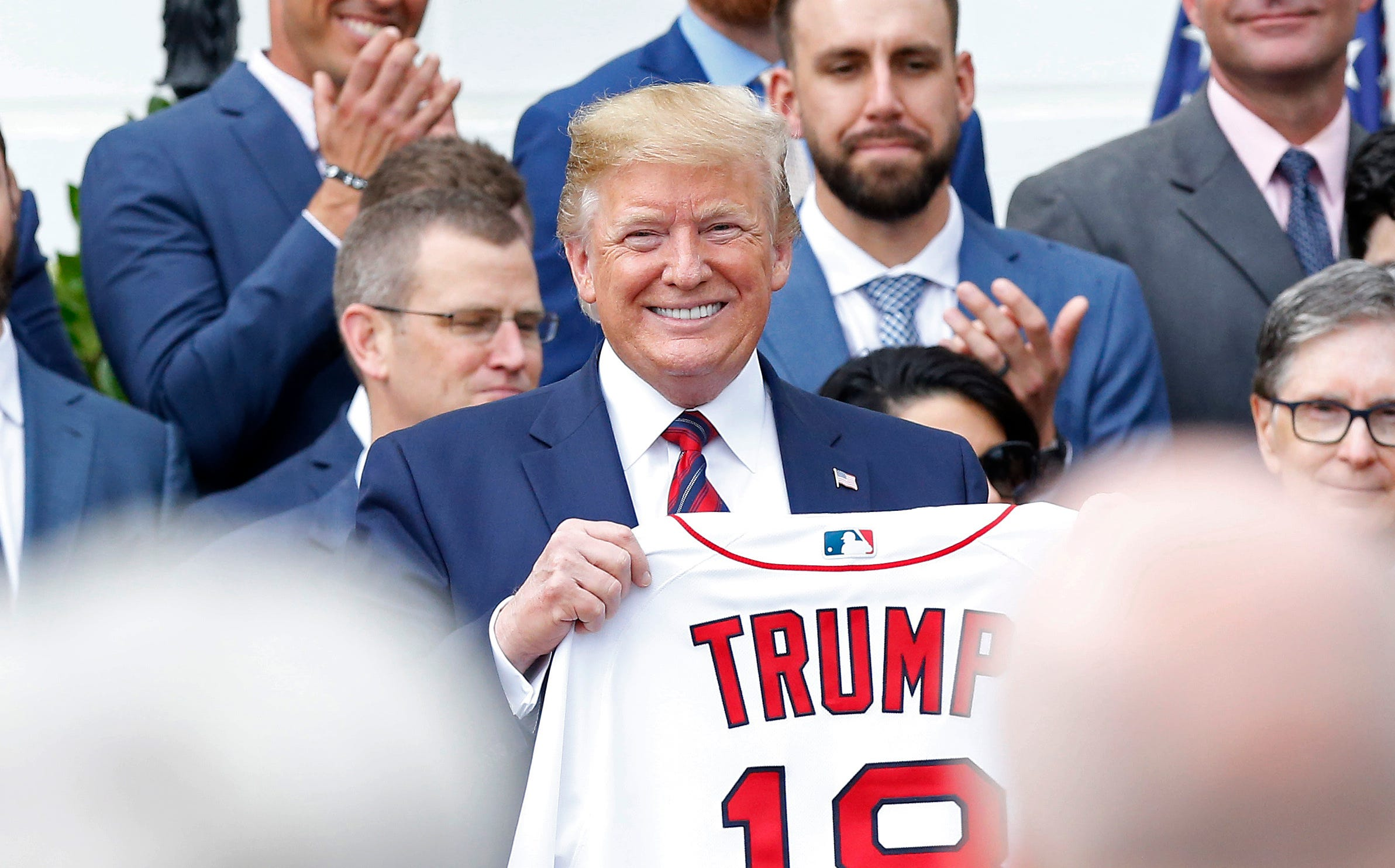 White House got roasted for calling the Boston Red Sox the 'World Cup Series Champions'