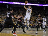SportsPulse: Maybe Kevin Durant can take this week off anyways? The Trail Blazers looked sluggish and need to regroup quick, otherwise it could be a very short series says Martin Rogers.
