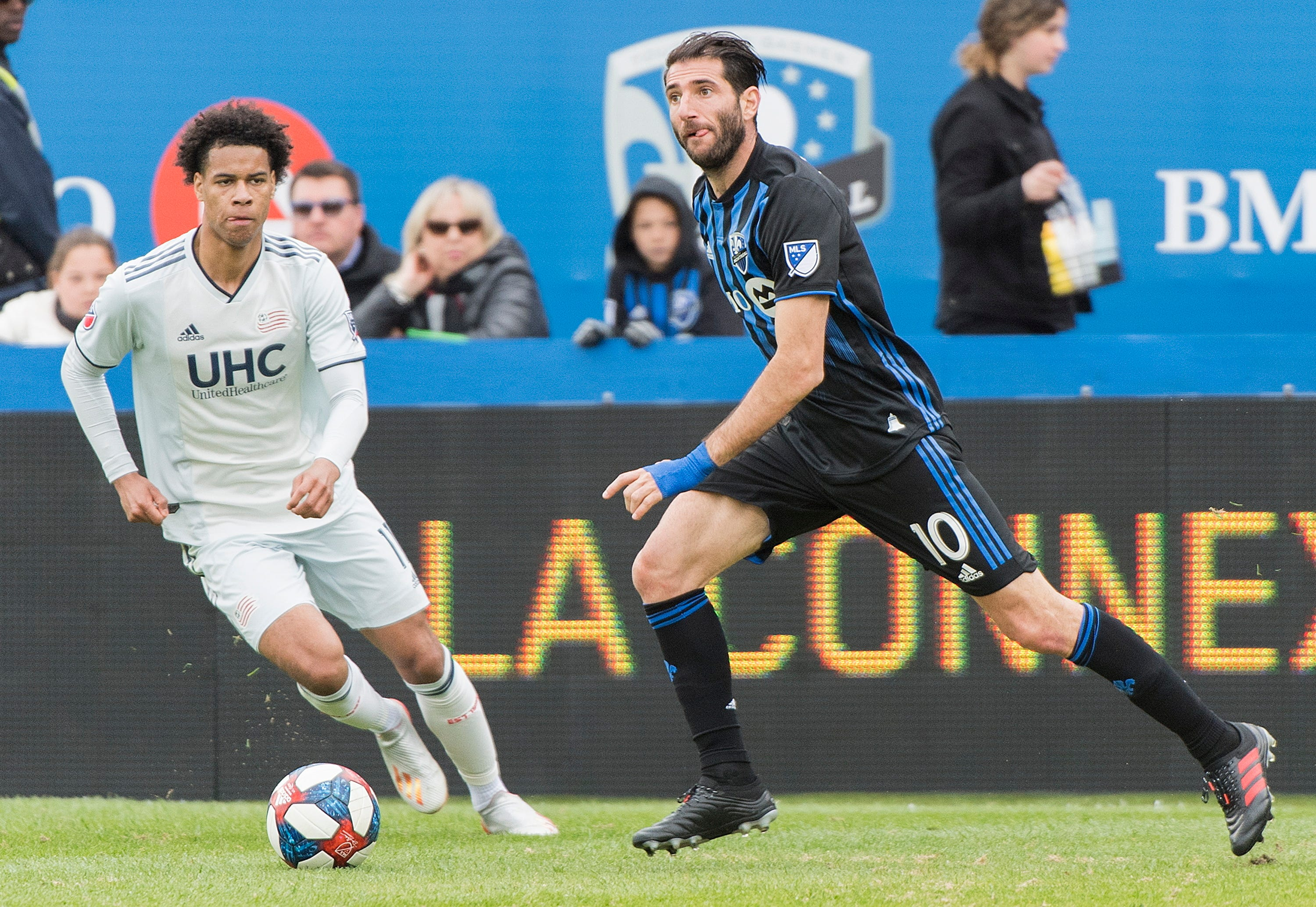 Revolution, Impact finish in 0-0 draw in Montreal