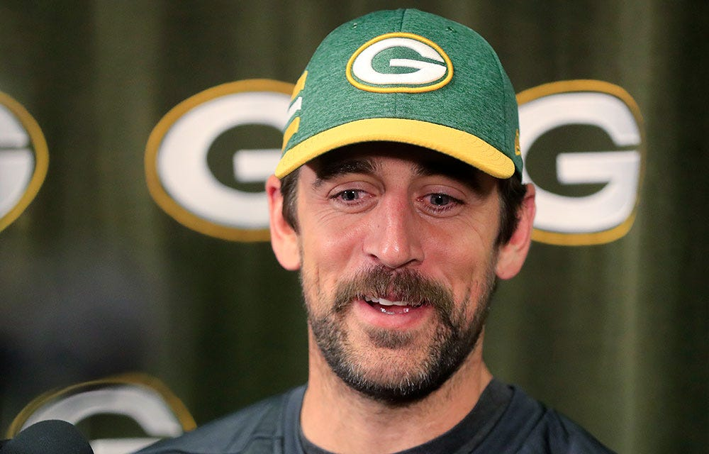 Aaron Rodgers also was unhappy about the 'Game of Thrones' series finale