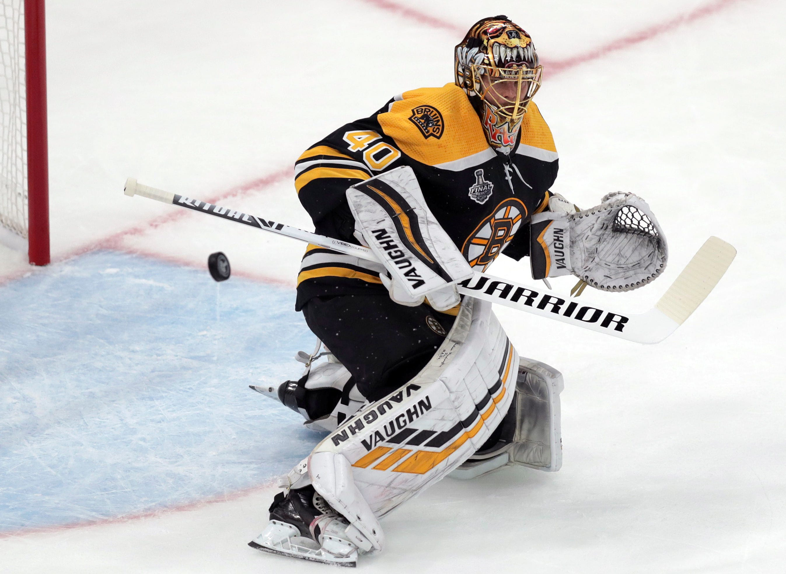 Unflappable Finn Rask the key to Bruins' Stanley Cup success