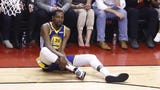 What I'm Hearing: USA TODAY Sports' Jeff Zillgitt discuss reaction to Kevin Durant's Achillies injury in Game 5 of the NBA Finals.