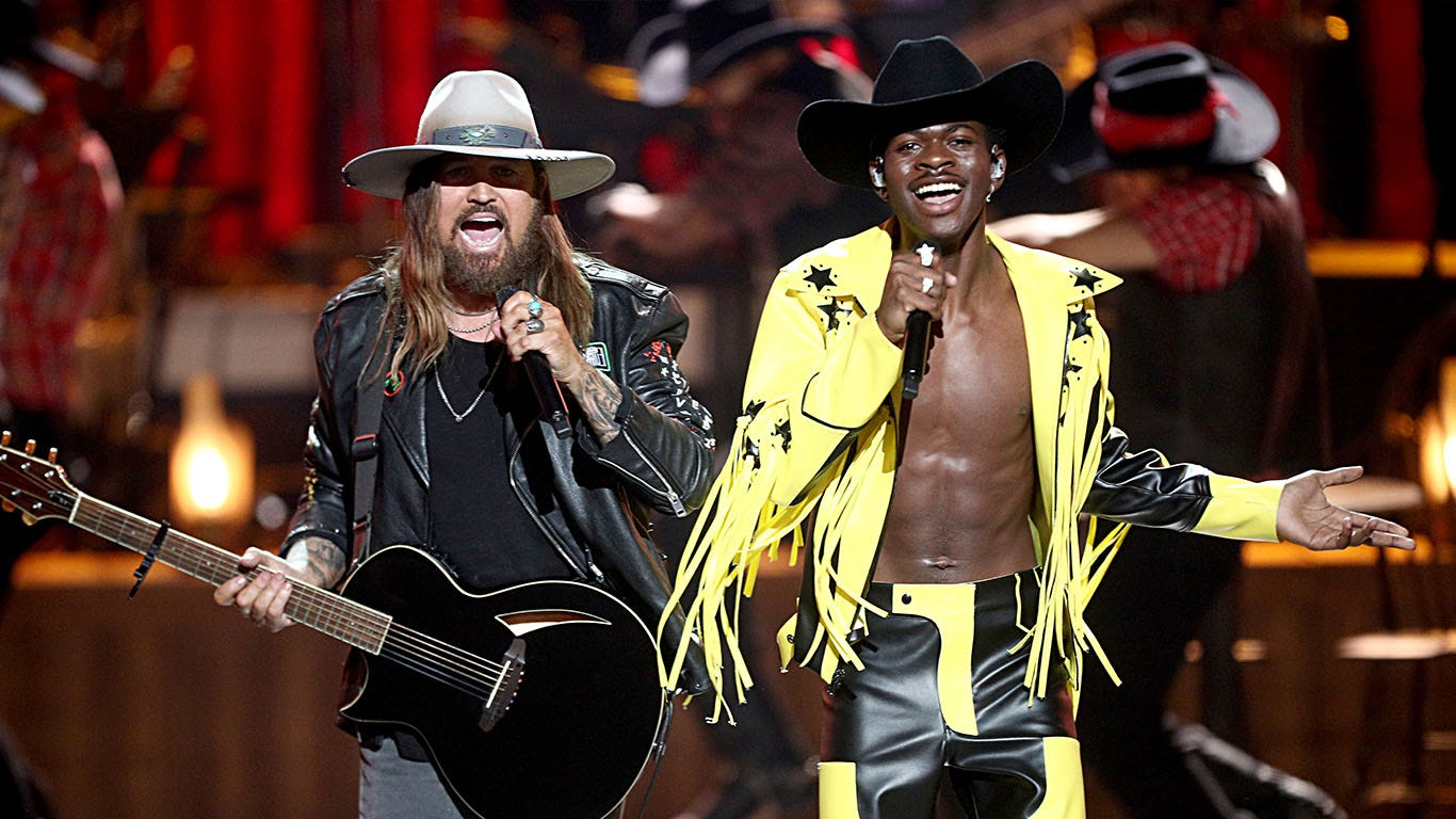The most successful song collaborations of all-time: 'Old Town Road' approaching No. 1
