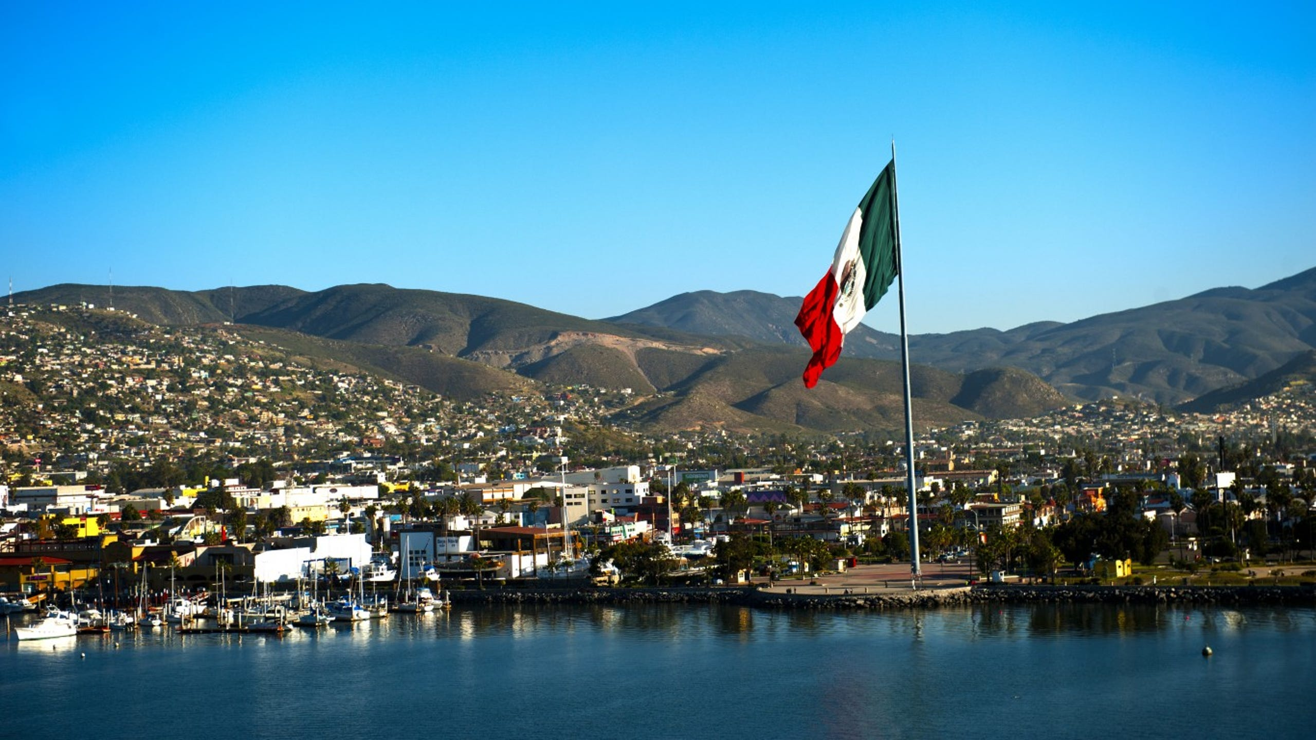 <strong>34. Ensenada, Mexico</strong><br /> <strong>&bull; Homicides per 100,000 in 2018:</strong> 47<br /> <strong>&bull; Homicides in 2018:</strong> 253<br /> <strong>&bull; Population:</strong> 542,896<br /> <br /> This coastal city on the Baja Peninsula, 65 miles south of Tijuana, is one of six Mexican cities debuting on this ranking amid a nationwide increase in violent crime. Ensenada has traditionally avoided cartel-related violence inflicting other parts of western Mexico, but like other Baja cities, the violence seems to be shifting its direction. In 2017, the tourist city of Los Cabos, on the tip of the Baja peninsula, was the world's most dangerous city. Los Cabos fell from the list in 2018.