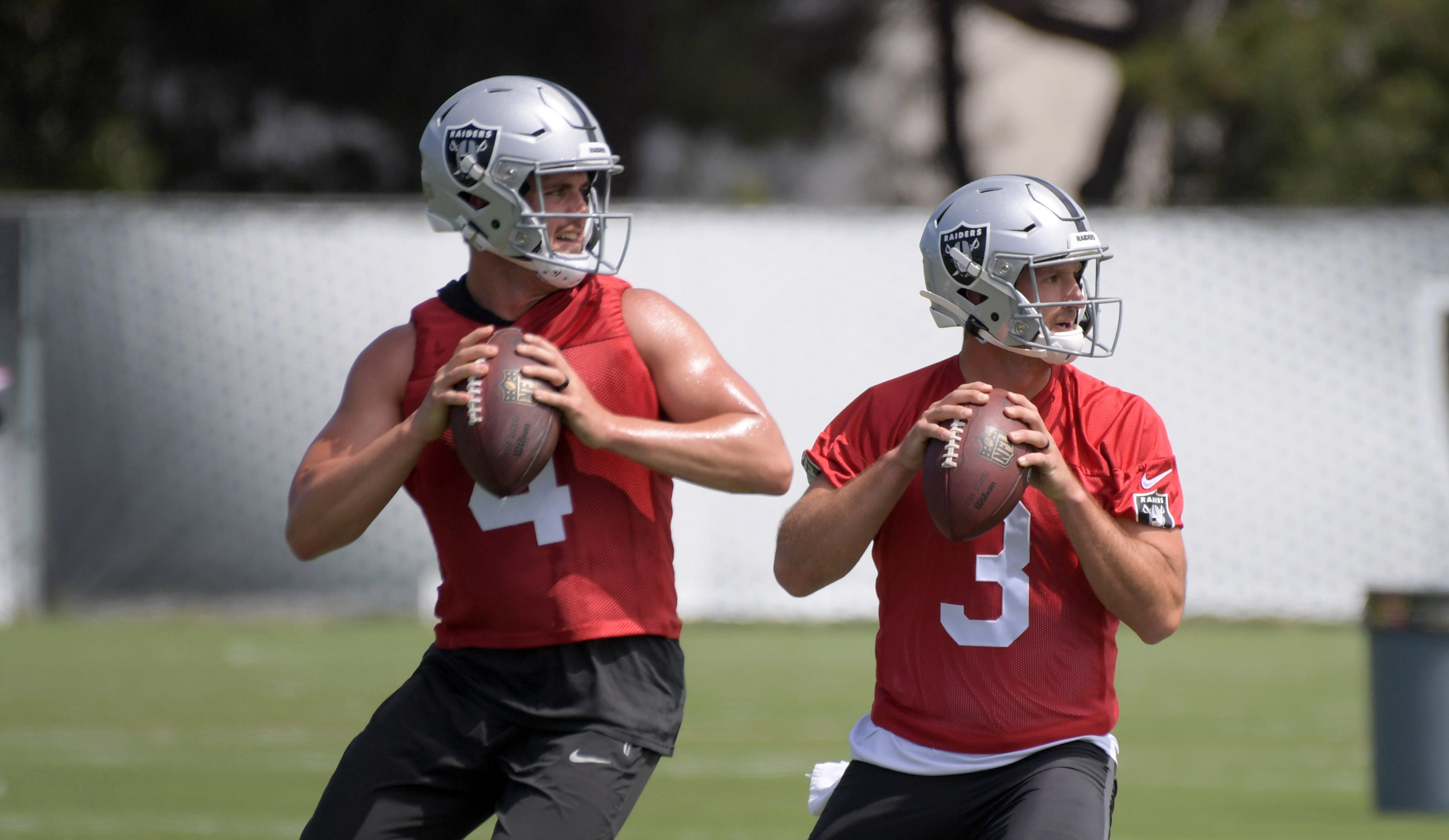 Oakland Raiders QB Derek Carr wants Adidas to give Nathan Peterman a shoe deal