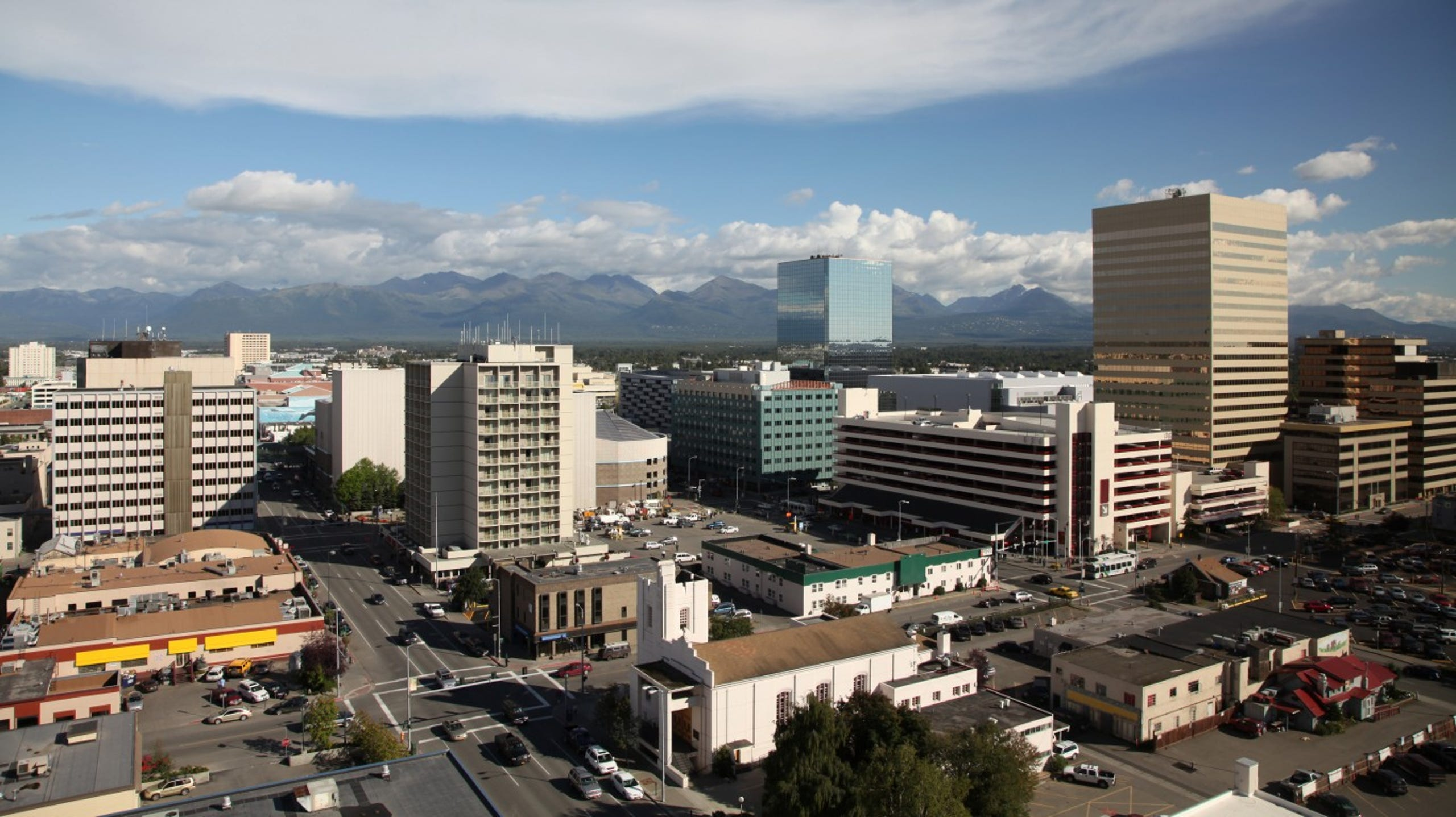 <strong>8. Anchorage, Alaska</strong><br /> <strong>&bull; Preschool enrollment:</strong> 33.0% (lowest 20%)<br /> <strong>&bull; High school graduation rate:</strong> 79.4% (lowest 20%)<br /> <strong>&bull; Pop. with access to areas for exercise:</strong> 83.6%<br /> <strong>&bull; Property crime rate:</strong> 5,441 crimes per 100,000 people (highest 10%)