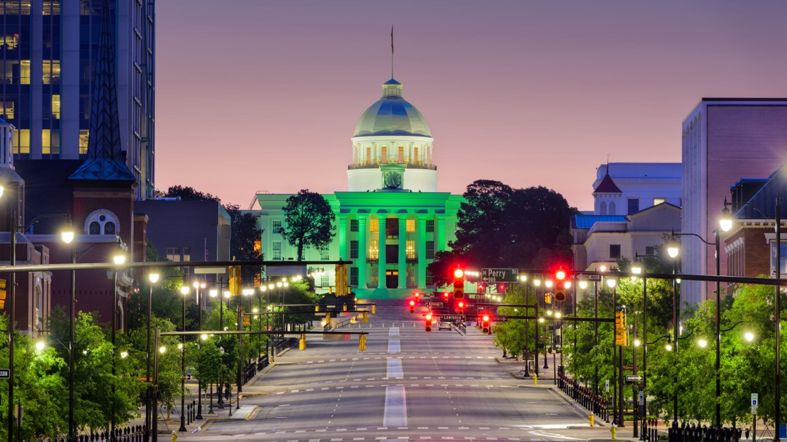 <strong>22. Montgomery, Alabama</strong><br /> <strong>&bull; Preschool enrollment:</strong> 30.7% (lowest 10%)<br /> <strong>&bull; High school graduation rate:</strong> 84.4%<br /> <strong>&bull; Pop. with access to areas for exercise:</strong> 68.5% (lowest 20%)<br /> <strong>&bull; Property crime rate:</strong> 3,532 crimes per 100,000 people (highest 20%)