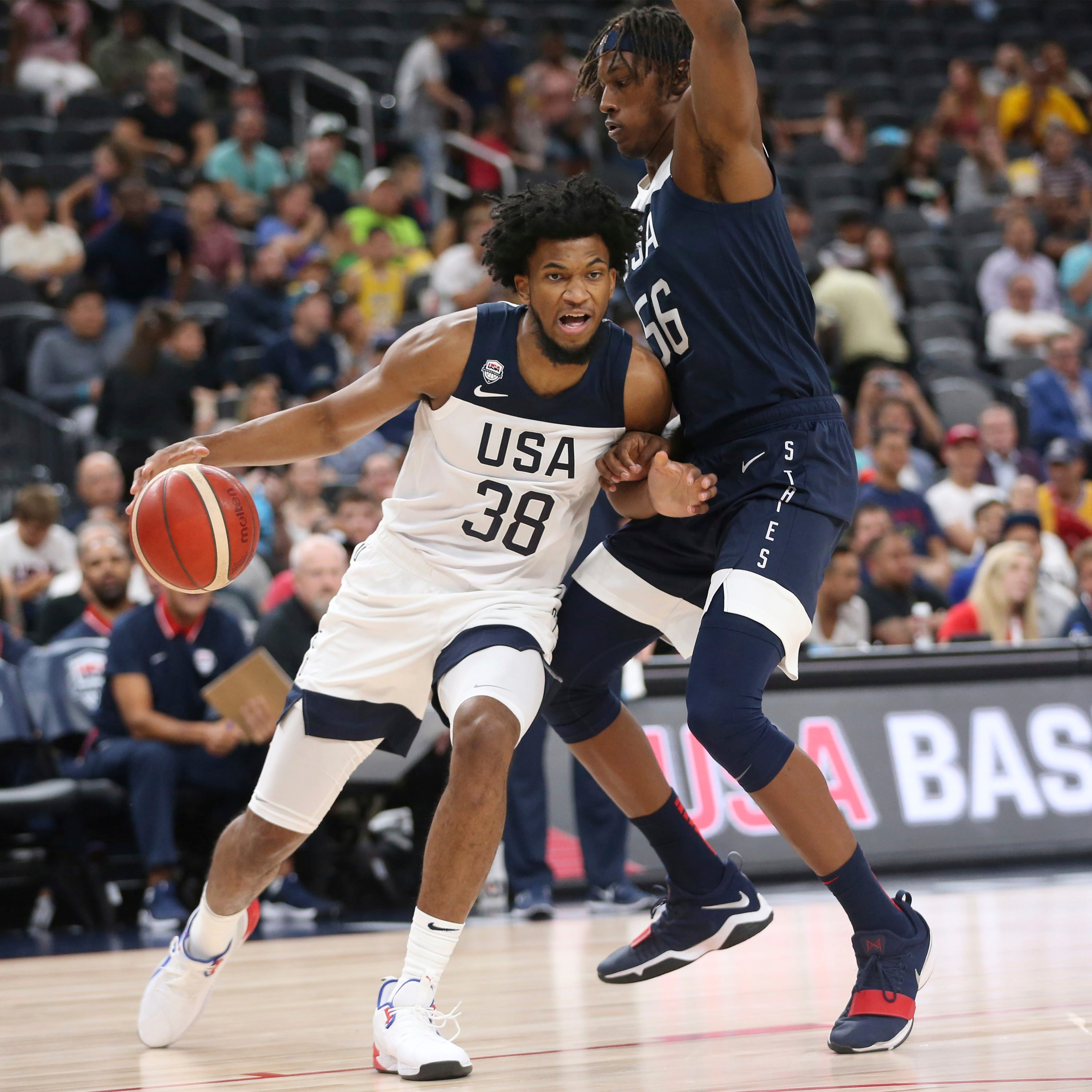 USA Basketball plays first scrimmage in advance of World Cup thumbnail