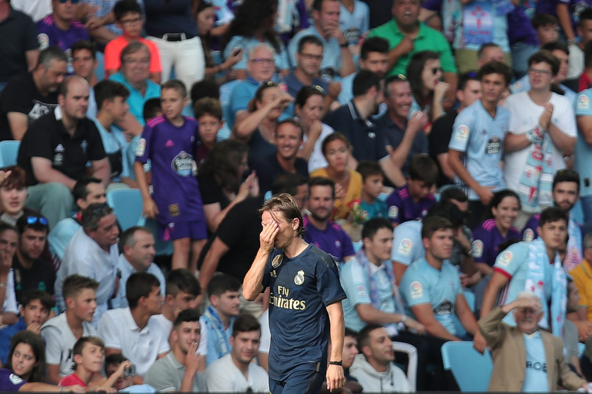Real Madrid opens Spanish league with 3-1 win over Celta