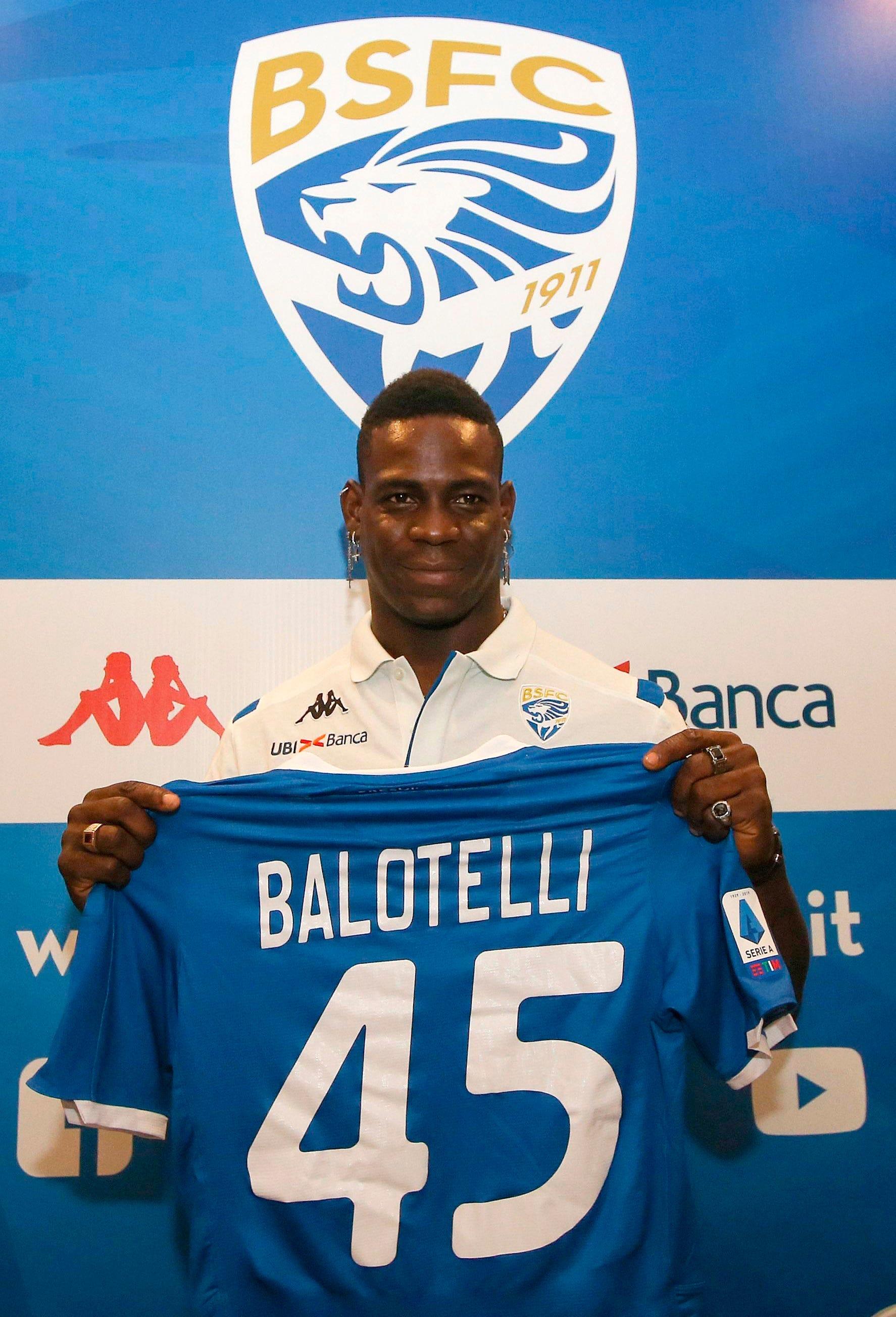 Balotelli: I have zero fear of failing