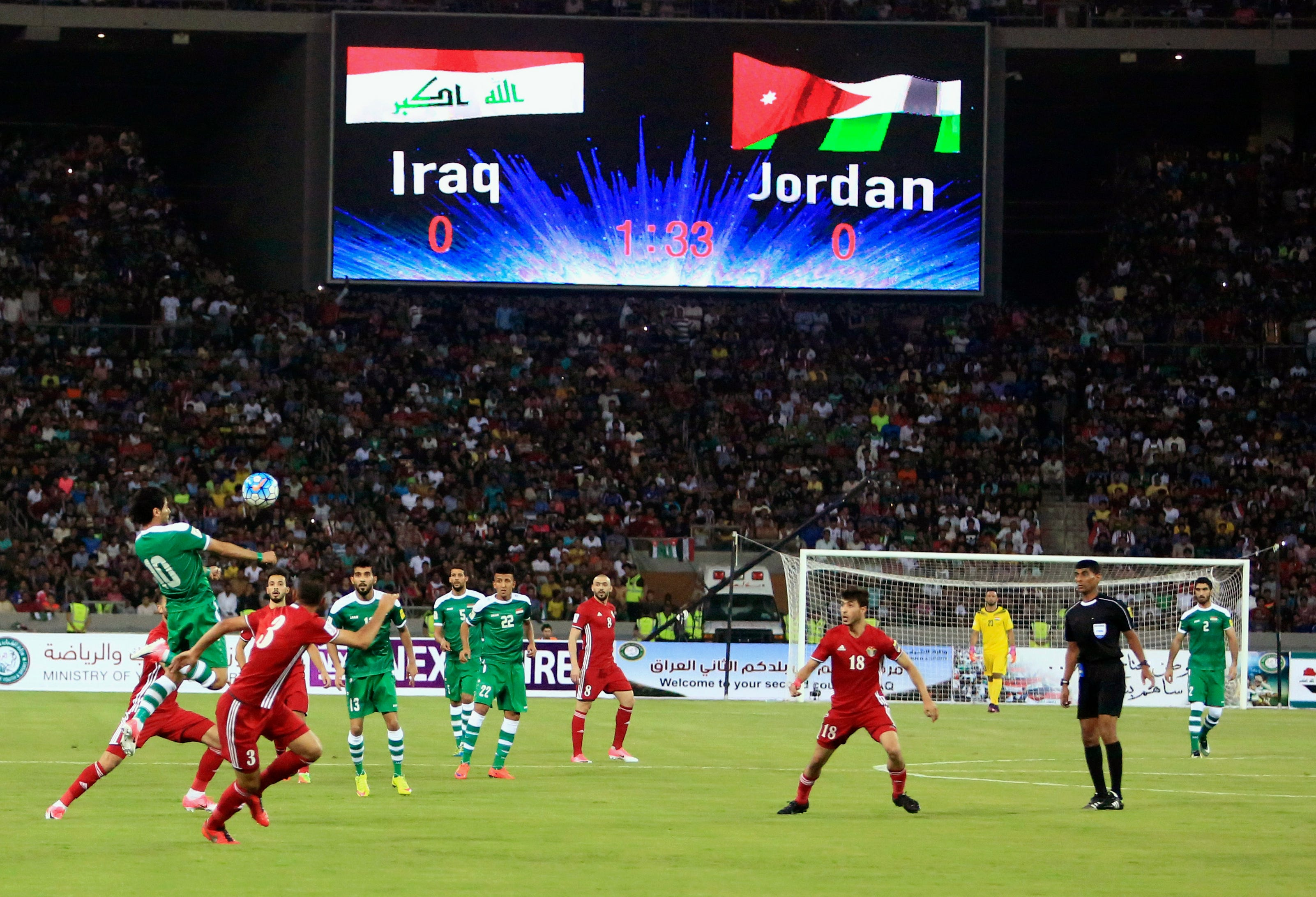 FIFA clears Iraq to host World Cup qualifying games in Basra