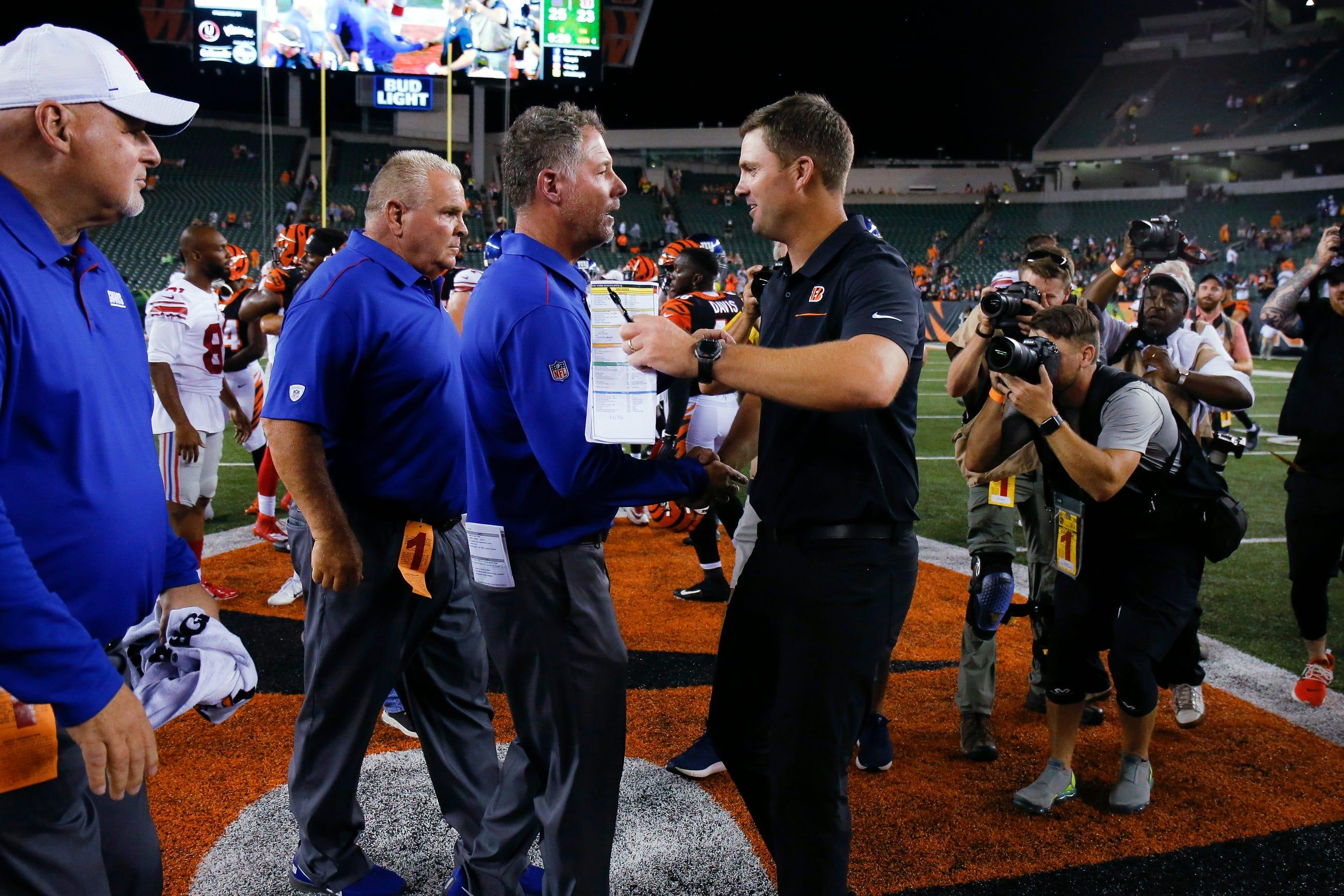 Jones leads TD drive in Giants' 25-23 win over Bengals