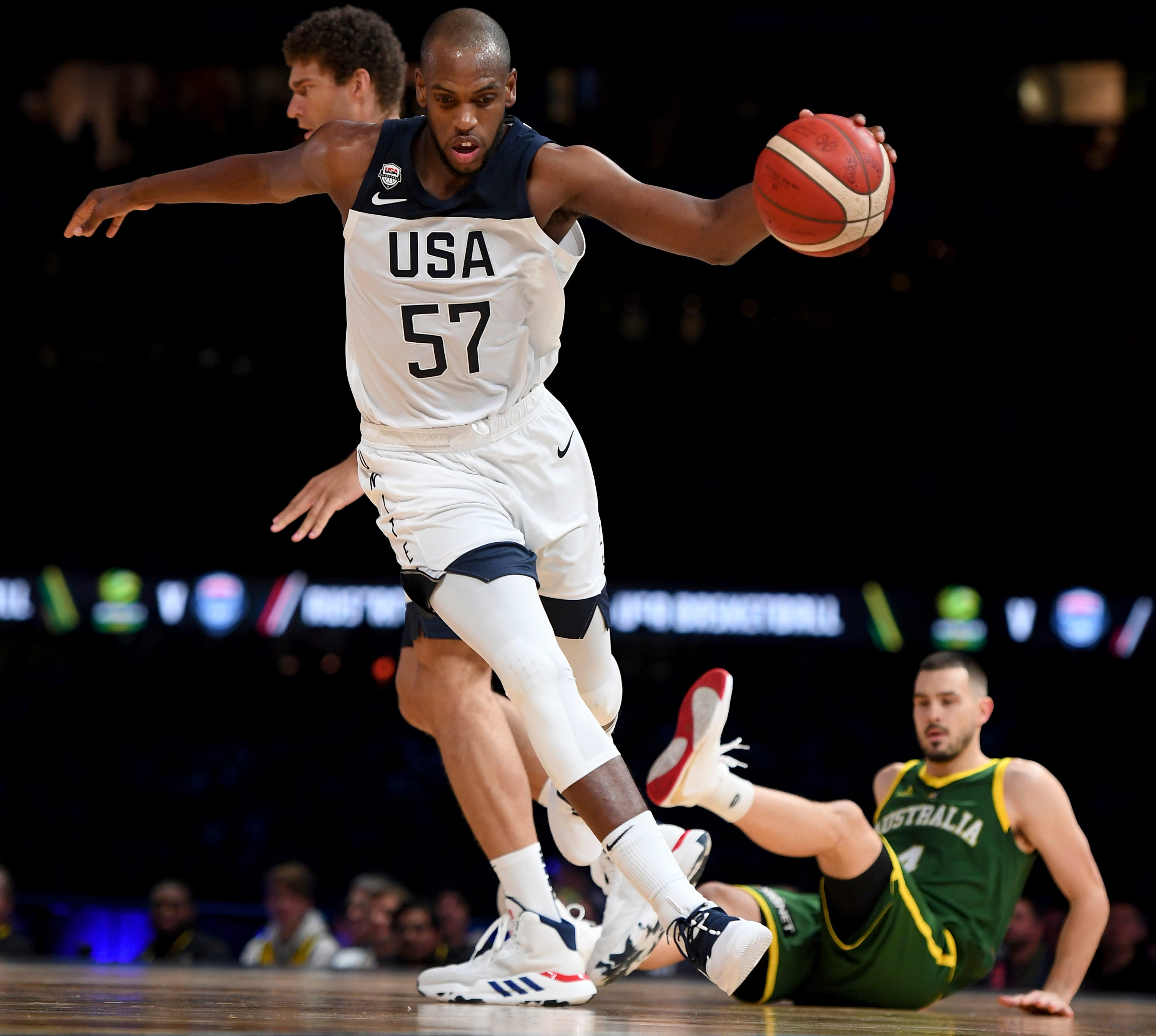 US-Australia basketball: Not all in crowd happy with seating thumbnail
