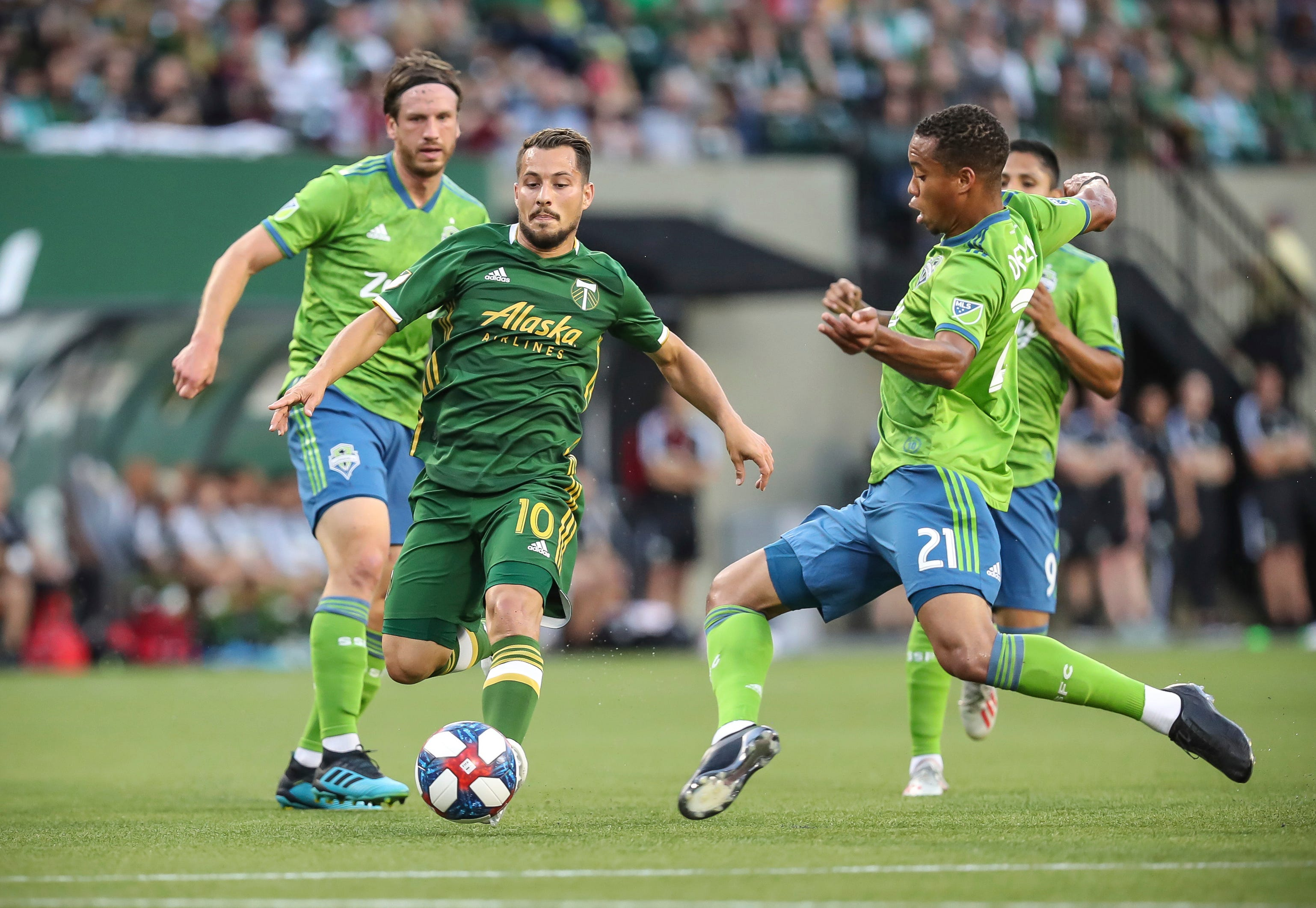 Sounders best Timbers 2-1 for Cascadia Cup