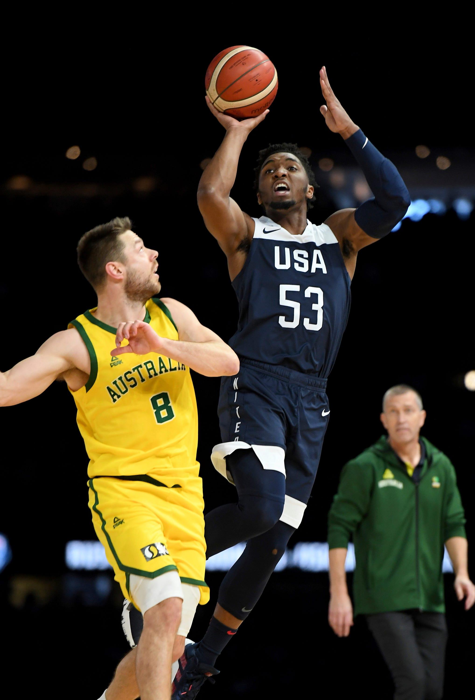 Streak ends: US men's basketball falls to Australia, 98-94 thumbnail